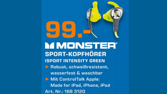 Monster iSport Intensity ©Saturn