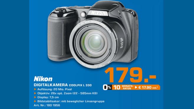 Nikon Coolpix L 330 ©Saturn