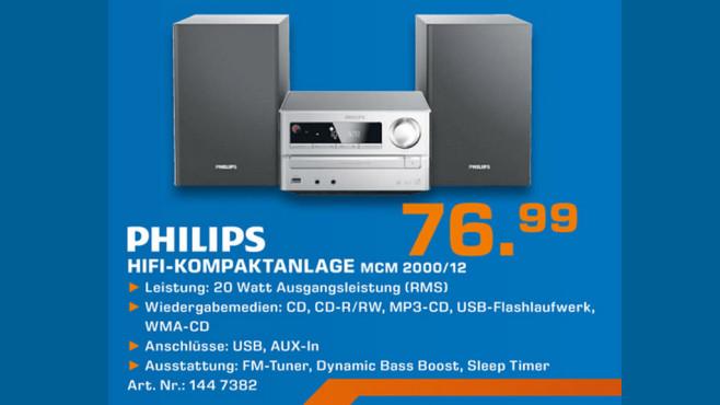 Philips MCM 2000 ©Saturn