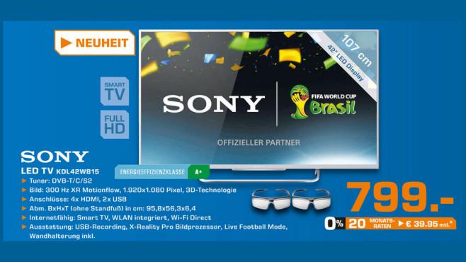 Sony KDL42W815B ©Saturn