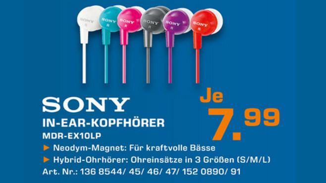 Sony MDR-EX10 ©Saturn