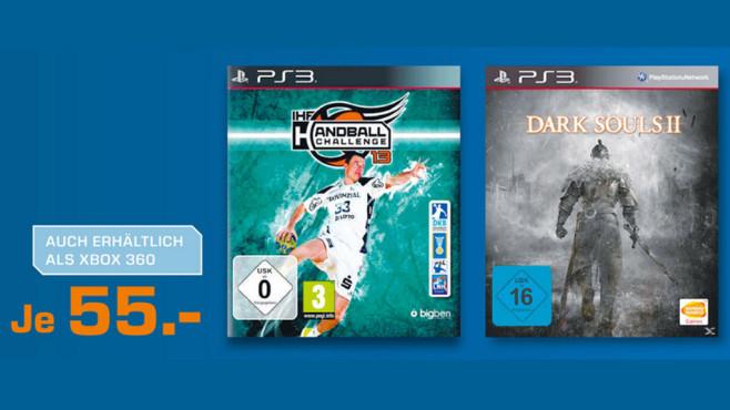 Spiele für PS3 und Xbox 360 ©Saturn
