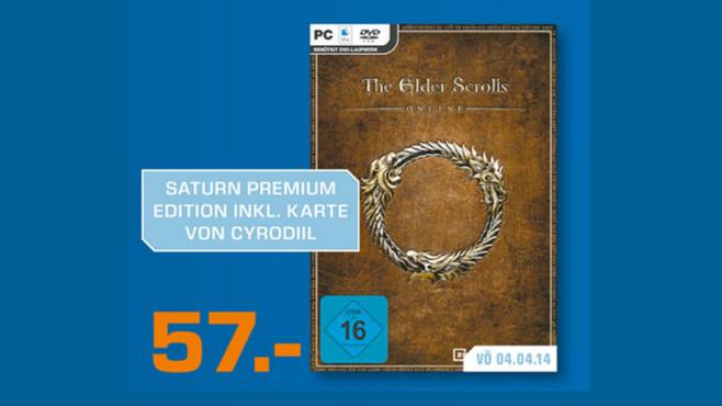 The Elder Scrolls Online (Bonus: Gedruckte Karte von Cyrodiil) Rollenspiel PC ©Saturn