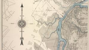 Übersichtskarte der Gemeinde Richmond von 1901. ©New York Public Library