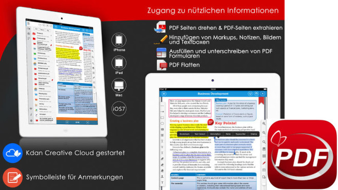 PDF Reader Premium ©Kdan Mobile Software LTD