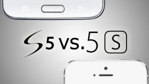 Galaxy S5 vs. iPhone 5S © Samsung/Apple