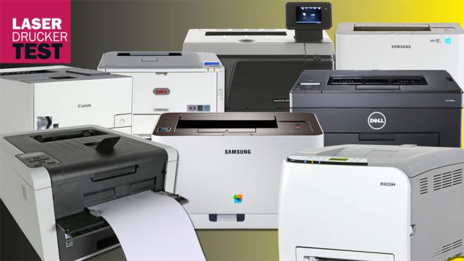 Farblaserdrucker im Test ©COMPUTER BILD