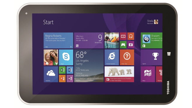 Toshiba Encore WT8-A-102 20,3 cm (8 Zoll) Tablet-PC ©Toshiba
