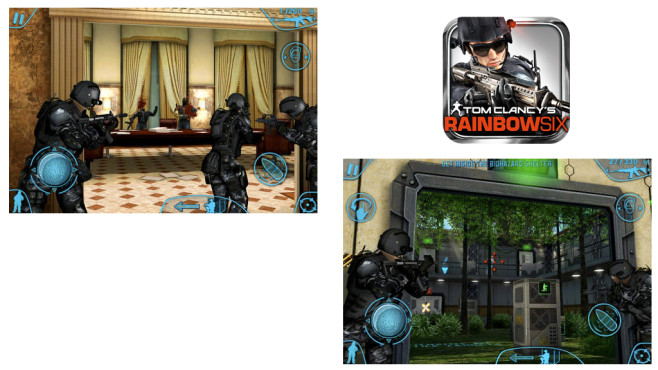 Tom Clancy�s Rainbow Six � Shadow Vanguard © Gameloft