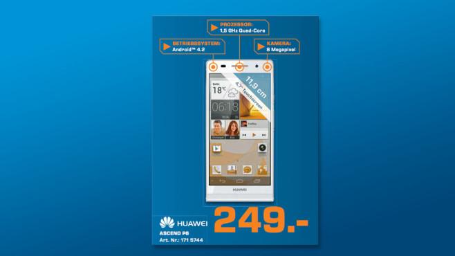 Huawei Ascend P6 ©Saturn