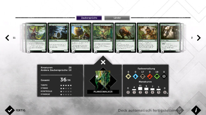 Magic 2015 – Duels of the Planeswalkers: Deck-Manager © Wizards of the Coast LLC