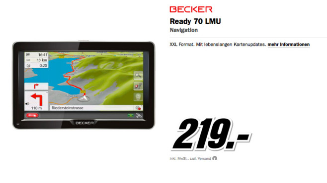 Becker Ready 70 LMU © Media Markt