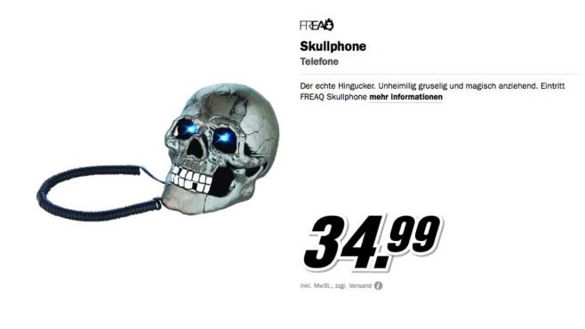 Freaq Skullphone ©Media Markt