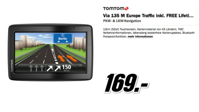 Via 135 M Europe Traffic © Media Markt