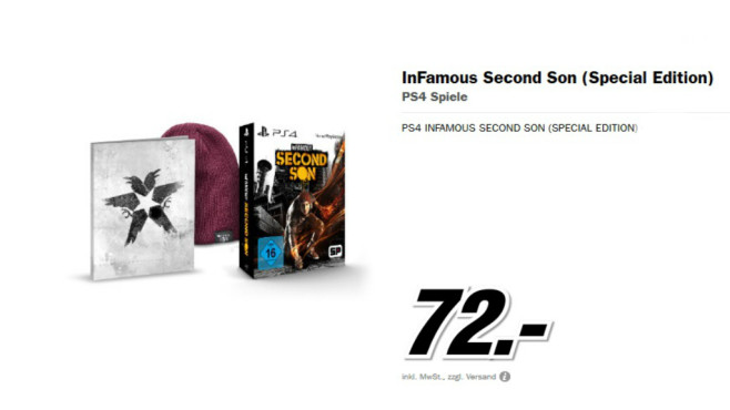 inFamous Second Son (Special Edition) © Media Markt