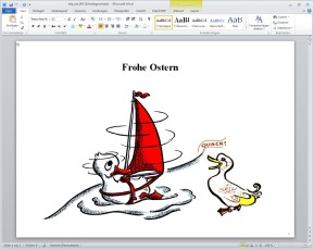 Kostenlose Word-, Office- & Outlook-Vorlagen zu Ostern