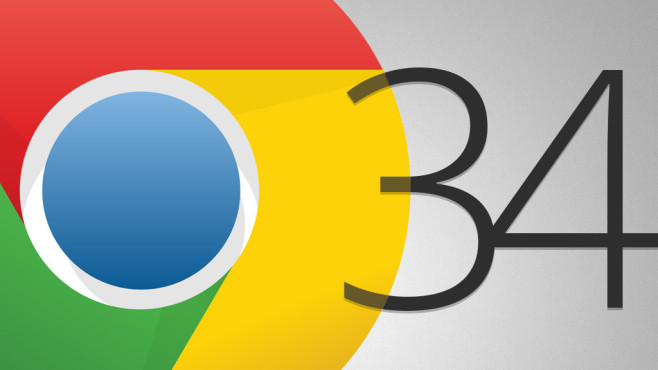 Google Chrome 34 ©Google