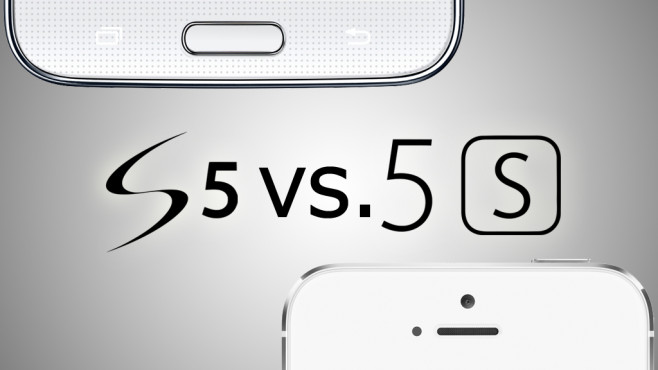 Vergleichstest: Samsung Galaxy S5 gegen Apple iPhone 5S ©Samsung/Apple/COMPUTER BILD