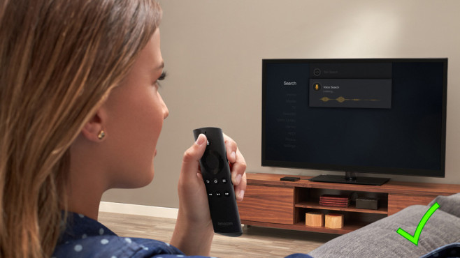Sprachsteuerung: Amazon Fire TV © Amazon