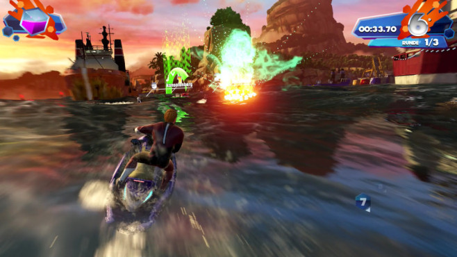 Kinect Sports Rivals: Jet Ski Rivals ©Microsoft
