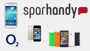 Mit LTE und Top-Smartphone: Allnet-Flat zum Schnäppchen-Preis ©Sparhandy.de, O2, Apple, Samsung, Nokia