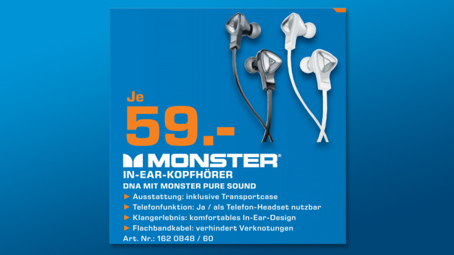 Monster DNA In Ear © Saturn