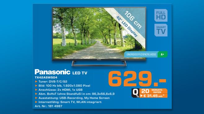 Panasonic TX-42ASW504 ©Saturn