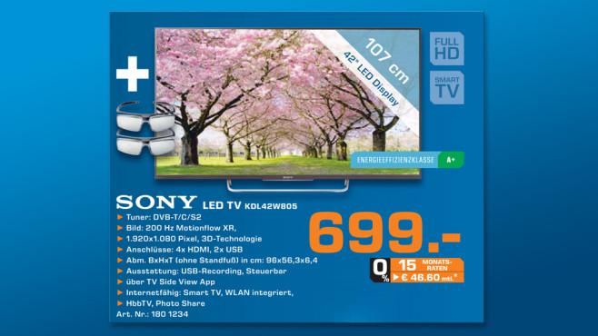 Sony KDL-42W805A ©Saturn