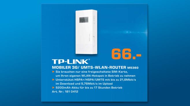 TP-LINK M5360 ©Saturn