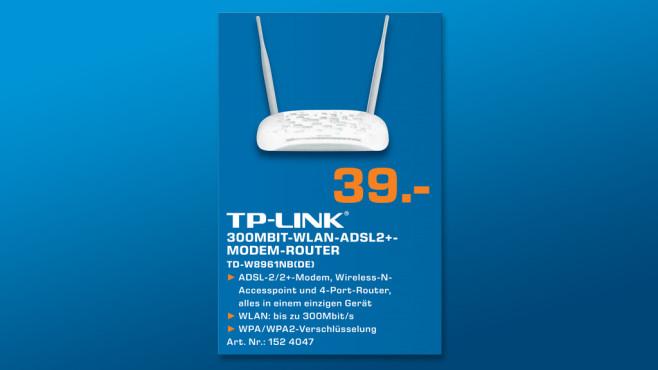 TP-LINK TD-W8961NB Annex B ©Saturn