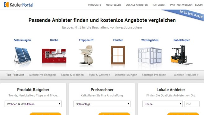 Screenshot Käuferportal ©COMPUTER BILD