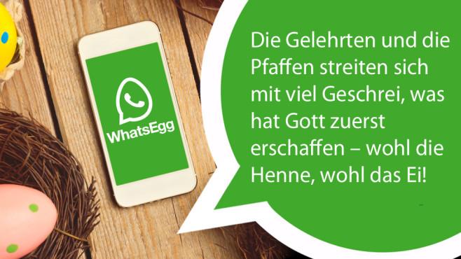 WhatsApp-Ostern: Die coolsten Sprüche zur Eierjagd ©WhatsApp, maglara - Fotolia.com