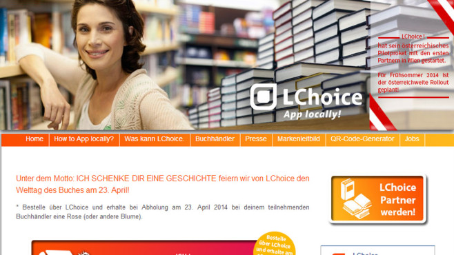 Screenshot LChoice-Homepage ©COMPUTER BILD