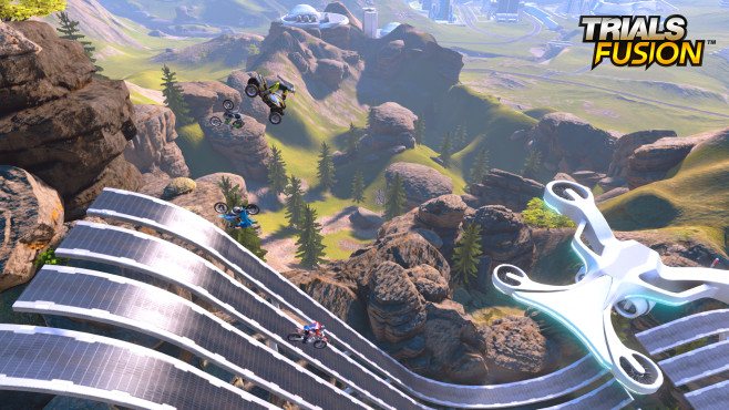 Trials Fusion: Multiplayer © Ubisoft