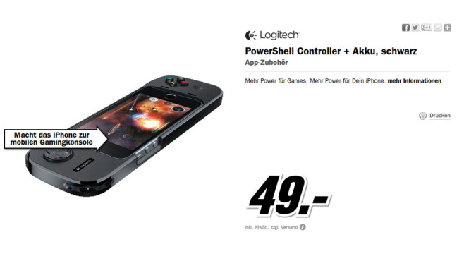Logitech PowerShell © Media Markt