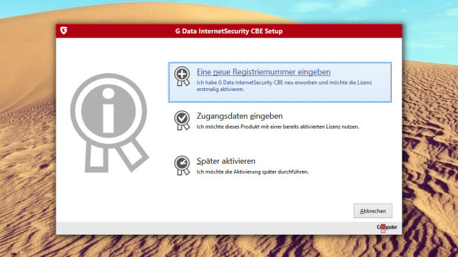 G Data Internet Security CBE ©G Data