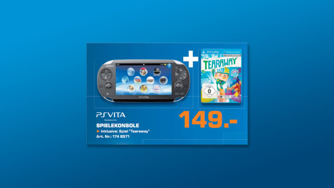 Sony PlayStation Vita Wi-Fi + Tearaway © Saturn