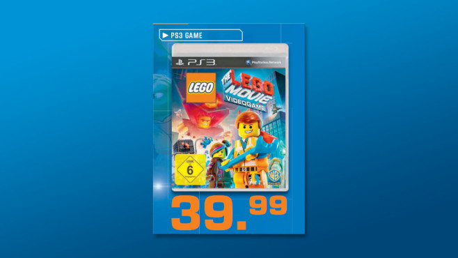 The Lego Movie Videogame (PS3) © Saturn
