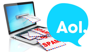 Hacker missbrauchen AOL Mail-Adressen zum Spam-Versand. ©AOL, koya979 - Fotolia.com