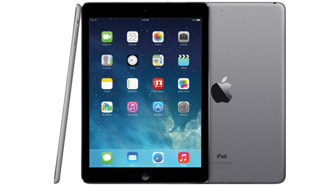Apple iPad Air Spacegrau © Apple