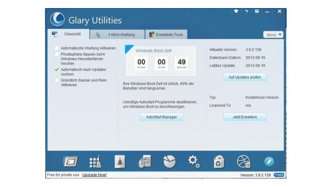 Glary Utilities ©COMPUTER BILD
