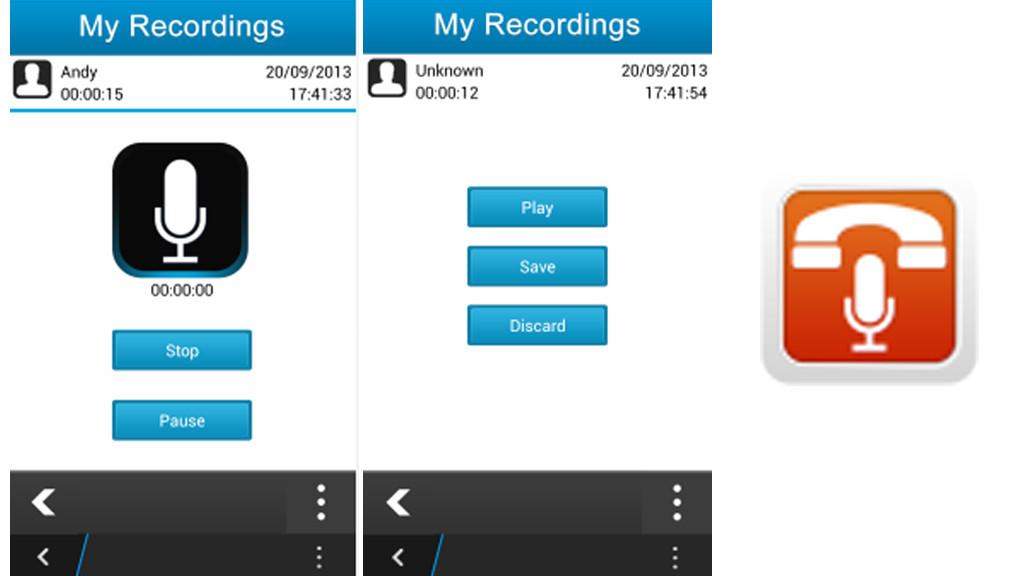 تطبيق البلاك بيري لتسجيل المكالمات