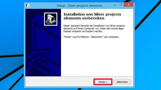 Silver Projects Elements installieren: So funktioniert es © COMPUTER BILD
