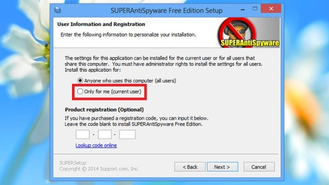 SuperAntiSpyware Free Edition: So klappt die Installation © COMPUTER BILD