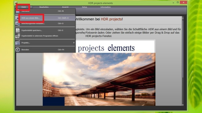 HDR Projects Elements: Tipps f�r den Einstieg © COMPUTER BILD