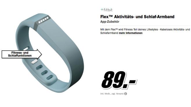 Fitbit Flex ©Media Markt