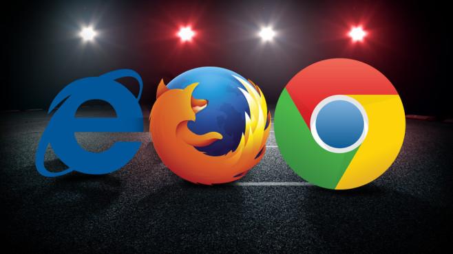 Browser-Test: Internet Explorer, Chrome oder Firefox – wer überzeugt? ©Microsoft, Motilla, Google, COMPUTER BILD
