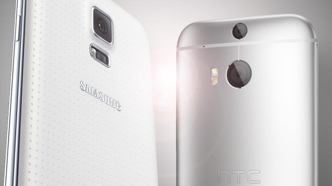 Vergleichstest: Samsung Galaxy S5 vs. HTC One M8 ©Samsung, HTC