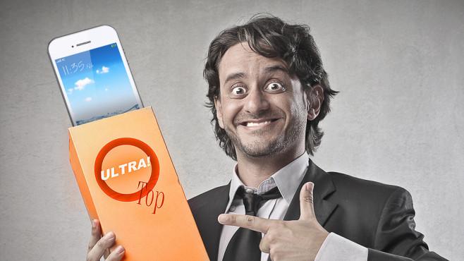 Wunsch und Wirklichkeit: Die größten Smartphone-Lügen ©olly - Fotolia.com, Tsiumpa - Fotolia.com