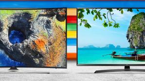 Top 10: Das sind die beliebtesten Fernseher unter 1.000 Euro bei Amazon Von 800 bis über 10.000 Euro: Die beliebtesten Ultra-HD-Fernseher bei Amazon. ©Samsung, LG, ©istock.com/Marjan_Apostolovic
